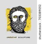creative modern classical... | Shutterstock .eps vector #703389052