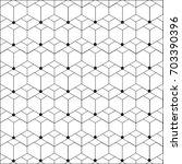 seamless vector geometric... | Shutterstock .eps vector #703390396