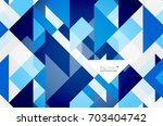 triangle pattern design... | Shutterstock . vector #703404742