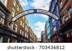 london  uk   circa june 2017 ... | Shutterstock . vector #703436812