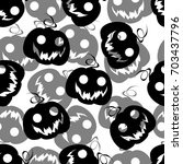 seamless pattern background... | Shutterstock .eps vector #703437796