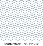 wave line seamless pattern... | Shutterstock .eps vector #703444912