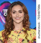 Small photo of LOS ANGELES - AUG 13: Alyson Stoner arrives for the Teen Choice Awards 2017 on August 13, 2017 in Los Angeles, CA