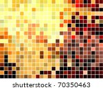 abstract square pixel mosaic... | Shutterstock .eps vector #70350463