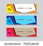 abstract web banner design... | Shutterstock .eps vector #703516618