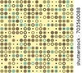 geometric pattern design  | Shutterstock .eps vector #703560088