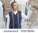 jerusalem  israel   a jewish... | Shutterstock . vector #703578046
