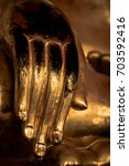 A Hand Of A Sitting Buddha...