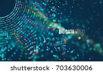 data sorting process. big data... | Shutterstock .eps vector #703630006