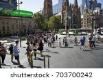 melbourne  australia  march 18  ... | Shutterstock . vector #703700242