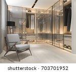 3d rendering minimal... | Shutterstock . vector #703701952