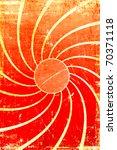 Grunge Sun Swirl Background
