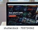 bangkok  thailand   august 27 ... | Shutterstock . vector #703724362