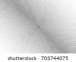 abstract halftone dotted... | Shutterstock .eps vector #703744075