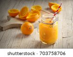 Juice Of Orange Squeezed In...