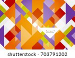 triangle pattern design... | Shutterstock . vector #703791202