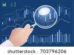 technical analysis of exchange... | Shutterstock .eps vector #703796206