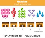 math educational game for... | Shutterstock .eps vector #703805506