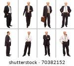 isolated full body portrait of... | Shutterstock . vector #70382152