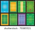sports grounds   Shutterstock .eps vector #70385521