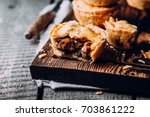 delicious fresh traditional...   Shutterstock . vector #703861222