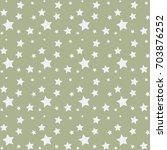 scandinavian seamless pattern... | Shutterstock .eps vector #703876252