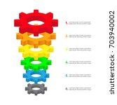 conversion funnel consisting of ...   Shutterstock .eps vector #703940002
