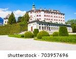 ambras castle or schloss ambras ...   Shutterstock . vector #703957696