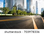 the office building at shenzhen ... | Shutterstock . vector #703978336
