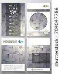 business templates for brochure ... | Shutterstock .eps vector #704047786