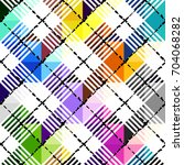 seamless background pattern.... | Shutterstock .eps vector #704068282