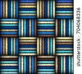 imitation of geometric... | Shutterstock .eps vector #704068336