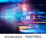 programming code abstract... | Shutterstock . vector #704079802