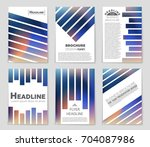 abstract vector layout... | Shutterstock .eps vector #704087986