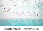 abstract architectural interior ... | Shutterstock . vector #704090818