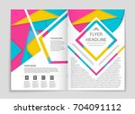 abstract vector layout... | Shutterstock .eps vector #704091112