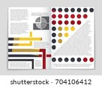 abstract vector layout... | Shutterstock .eps vector #704106412