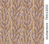 hand drawn pattern with... | Shutterstock .eps vector #704112052