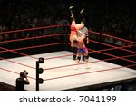 Постер, плакат: Editorial WWE wrestling