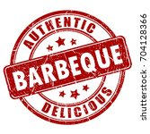 barbeque rubber eps stamp... | Shutterstock .eps vector #704128366
