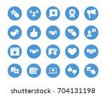 user reviews circular icons set   Shutterstock .eps vector #704131198