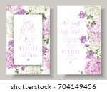 Vector Wedding Invitations Wit...