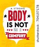 gym inspiring creative...   Shutterstock .eps vector #704157178