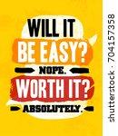 gym inspiring creative... | Shutterstock .eps vector #704157358