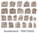 vector hand drawn cartoon... | Shutterstock .eps vector #704172652