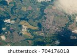 aerial view of chester le... | Shutterstock . vector #704176018