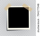vector template photo frame... | Shutterstock .eps vector #704177548