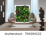 vector illustration of interior ... | Shutterstock .eps vector #704204122