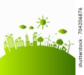 green ecology city...