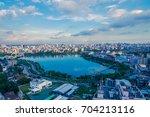 urban skyline dhaka  bangladesh | Shutterstock . vector #704213116